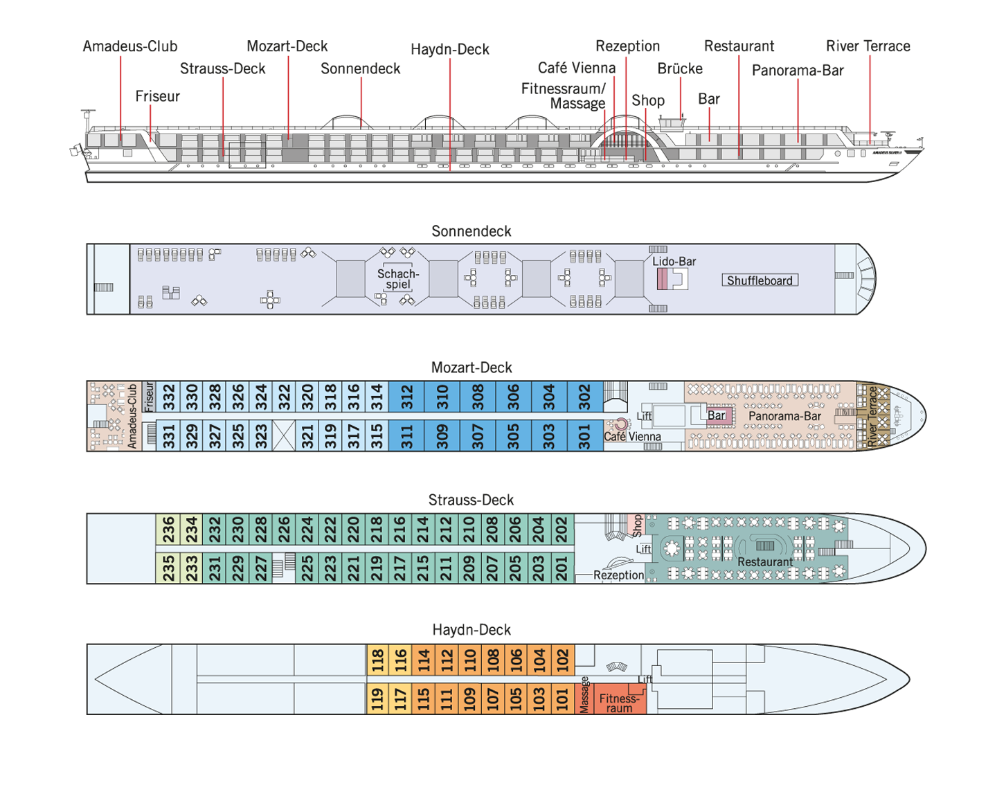 Lftner cruises ms amadeus silver ii deck plan baanklon Image collections